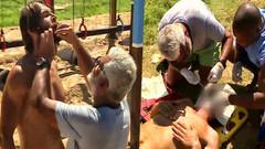 Survivor'da kim elenecek? Gökhan, çenesini engele çarptı!