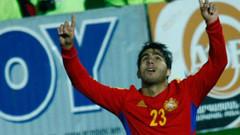 Ermenistan Kazakistan'ı Beşiktaşlı Aras Özbiliz'in golüyle yendi