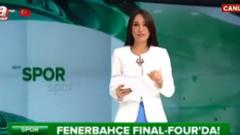 A Haber spikeri Duygu Leloğlu canlı yayında rezil oldu