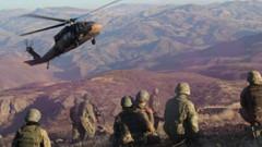 PKK'ya ağır darbe: Ağrı'da 29 terörist öldürüldü