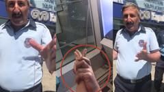 Zabıtadan Habertürk muhabiri Leyla Ünal'a çirkin saldırı