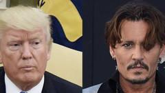 Johnny Depp, Trump'tan özür diledi
