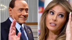 Berlusconi: Trump'ın karısı Melania'ya bayılıyorum