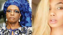 First Lady oğluyla sevişirken yakaladığı mankeni kabloyla dövdü!