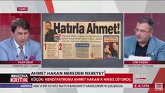 Cem Küçük: Ahmet Hakan zavallı, Aydın Doğan yazdırıyor