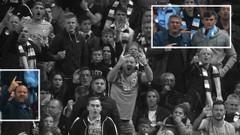 Sosyal medya Manchester City-Everton maçında çekilen fotoğrafı konuşuyor