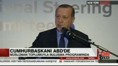 Son dakika: Erdoğan konuşurken olay çıktı: Salon teröristlerine..