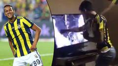 Televizyon kıran Fenerbahçe taraftarına Souza'dan büyük jest