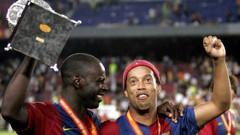 Brezilyalı efsane Ronaldinho futbolu bıraktı