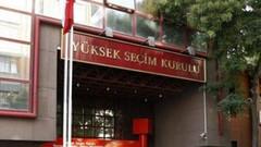 YSK seçim listesini açıkladı: İYİ Parti yok