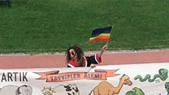 Erdoğan pankart açan ODTÜ'lü öğrencilerle görüştü