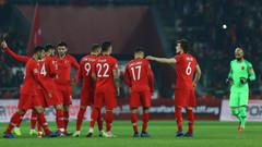 Küme düşen Türkiye'nin UEFA Uluslar Ligi C Ligi'ndeki muhtemel rakipleri