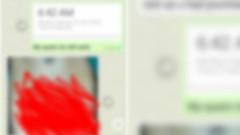 Evli kadının müstehcen görüntülerini kocasına gönderdi