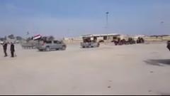 Son dakika: Esad'a bağlı güçler Afrin'e girmeye başladı