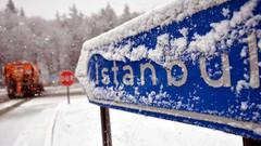 Meteoroloji İstanbul'da kar yağışı için tarih verdi
