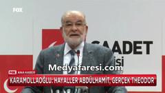 Karamollaoğlu Erdoğan'ı kızdıracak: ABD'ye Osmanlı tokatı atacaklardı, Merkel'den Alman terliği yedi