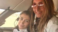 Mina Başaran ile fotoğraf yayınlayan pilot Elif Ulusoy'dan açıklama: Ölmedim