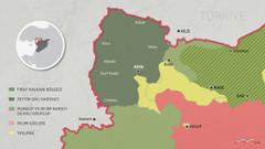 Afrin zaferi sonrası Suriye haritası nasıl değişti?