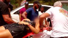 Survivor'da korkutan kaza! Kanlar içinde hastaneye kaldırıldı