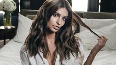 Emily Ratajkowski saç bakım markasının reklam yüzü oldu