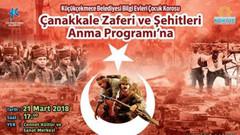 Küçükçekmece Belediyesi'nin Çanakkale Zaferi etkinlik afişlerine tepki