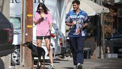 Kendall Jenner Fai Khadra ile görüntülendi