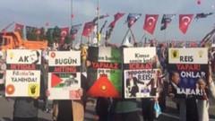 Saadet Partili gençlerden Cumhur İttifakı'na Yenikapı çalımı