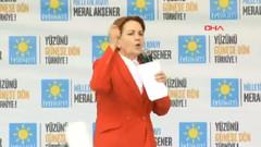 Meral Akşener: Bir polis memuru Meral Akşener'i HDP'li biriyle aynı kefeye koyamaz