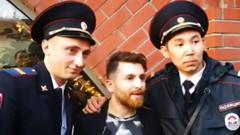 Sahte Messi Moskova'yı karıştırdı