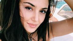 Hande Erçel'in göbeği sosyal medyada olay oldu