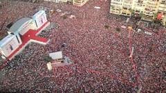 Muharrem İnce İzmir mitingi: 2,5 Milyon kişiye konuştu