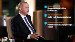 Erdoğan yeni Başkanlık Sistemini ilk kez bu kadar detaylı anlattı