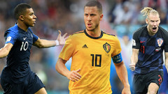 The Guardian 2018 Dünya Kupası'nın en iyi 11'ini seçti