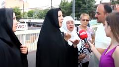 Sokak ortasında Adnan Oktar müritleri ile vatandaşlar arasında tartışma