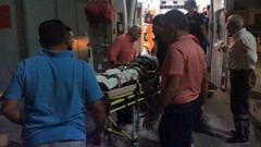 Can Gürzap'a Suriyeli motosiklet sürücüsü çarptı