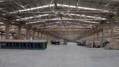 Türkiye'nin en büyük seramik fabrikasında üretim durdu