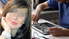Genç kadın bilgisayardaki çıplak fotoğraflarıyla şantaja uğradı