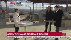 TRT Haber'den Zeytin Dalı Harekatının yıldönümünde özel yayın