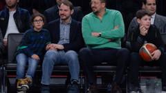 Berat Albayrak kızı ve oğluyla All-Star'ı izledi