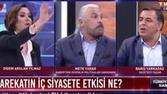 Canlı yayında Mete Yarar ve Barış Yarkadaş kavgası: Düzgün konuş benimle..