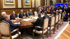 Saraydaki görüşmede Erdoğan'ın sorusu bir anda havayı değiştirdi