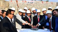 İzmir Büyükşehir Belediyesi Başkanı Tunç Soyer cemevi temel atma törenine katıldı