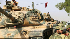 Suriye devlet televizyonu: YPG'nin terk ettiği Rasulayn'a Türk askeri girdi