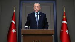 Erdoğan: Çekilen teröristler götürebildiği silahları götürecek, kalanları toplayacağız