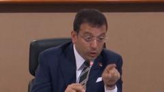 İBB Meclisi'nde damat tartışması! İmamoğlu: Elini indir! Haddini bil!