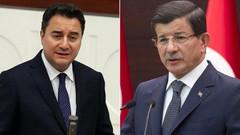 Babacan aralık sonu, Davutoğlu ise aralık başında partilerini kuracak