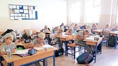 Okula takke getiren öğrenciye sevap puan kartı