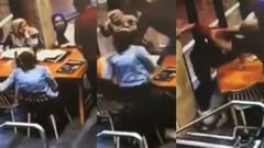 Avustralya'da Müslüman hamile kadına kafede yumruklu saldırı!