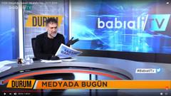 Medyadaki kirlenmeye ilginç tepki: Gazeteleri siyah eldivenle tutuyor