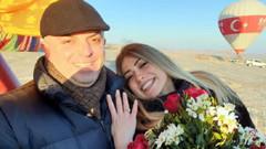 Başkandan deplasmanda rüya gibi evlilik teklifi